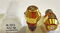 Форсунка Danfoss 6.00 Usgal/h 45° B (23.4 kg/h)