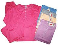 Пижама женская трикотажная, размеры M, L, XL, XXL, 3XL, арт. 744