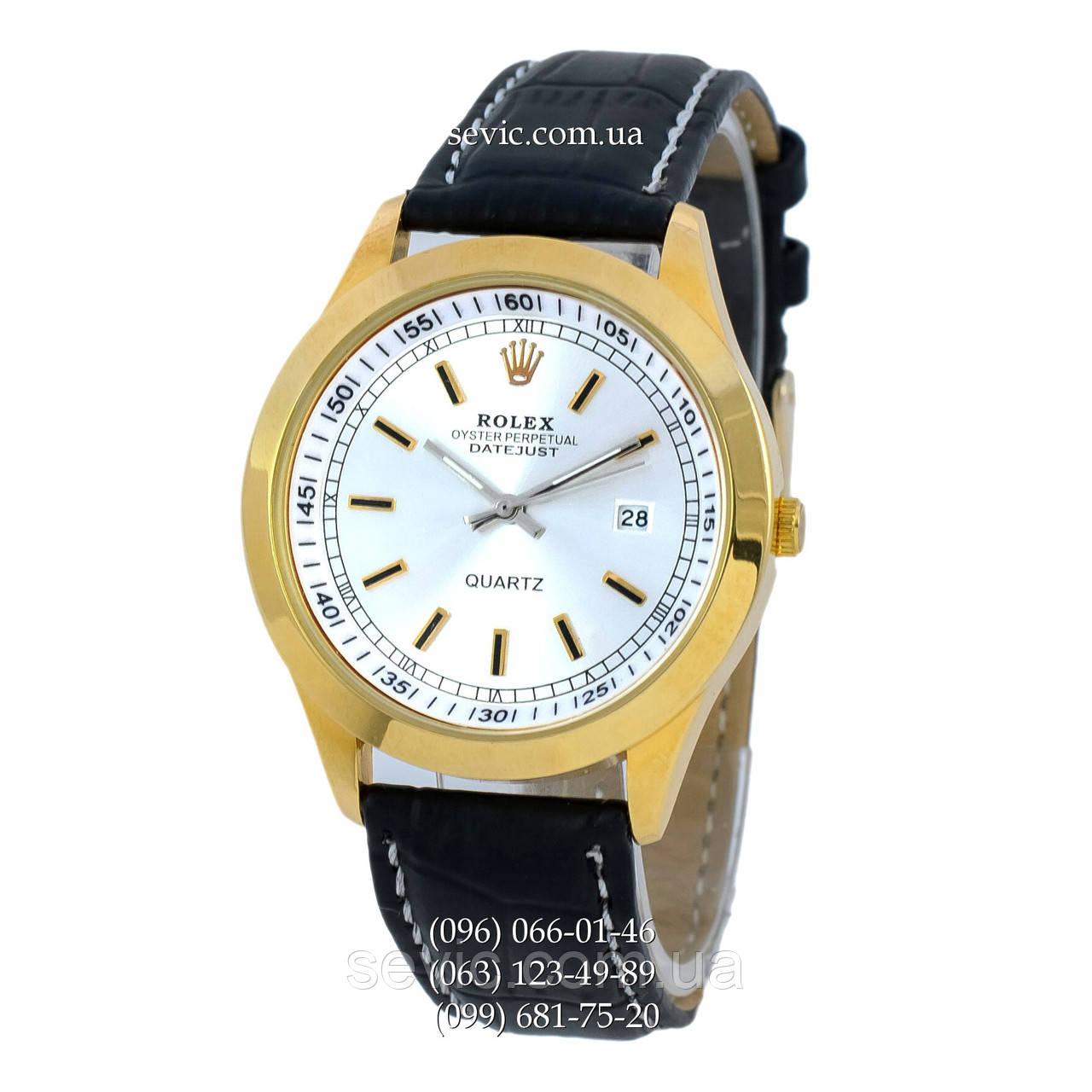 341c60554b2e Наручные часы Rolex Datejust Black-Gold-Silver (реплика) - Интернет магазин