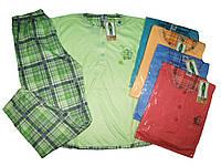 Пижама женская трикотажная, размеры M, L, XL, XXL, 3XL, арт. 1/751