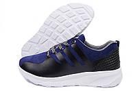 Кроссовки подростковые Adidas ZX Flux синие (адидас)