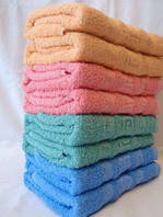 Набор махровых полотенец для лица 8шт.Венгрия