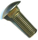 Болт нержавеющий DIN 603 А2 — болт с круглой тонкой головкой и квадратным подголовником.
