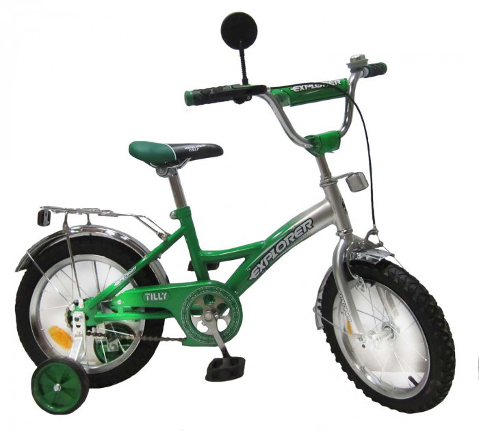 Велосипед EXPLORER 14 T-21412 green + silver