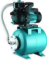 Насосная станция бытового водоснабжения 0,9 кВт H 48 м Q 85 л / мин бак 24 л LEO 3.0