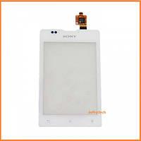 Сенсор (тачскрин) Sony C1503, C1504, C1505, C1604, C1605 Xperia E Dual White Original