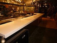 Современная барная стойка из акрилового камня