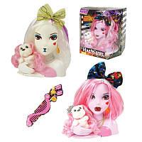 "Голова куклы для причесок ""Monster High"" W0020-1/3, 2 вида"