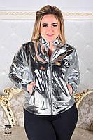 Куртка демисезонная большого размера 48-54 разные цвета