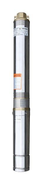 """Насос скважинный с пов.уст. к песку  3""""  OPTIMA  3SDm1.8/20 0.55 кВт 84м + пульт+кабель 15м"""