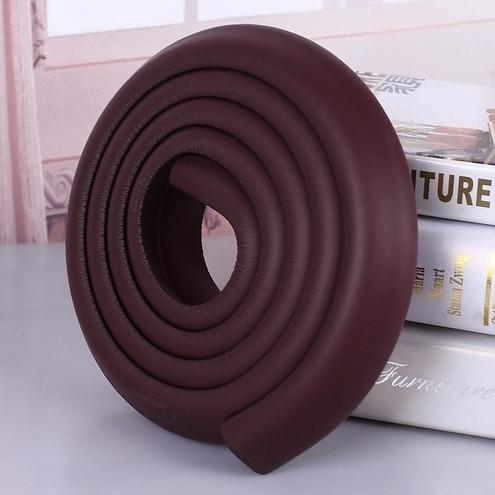 Длинная мягкая защита на углы - толстая. Темно-коричневый  Оптом
