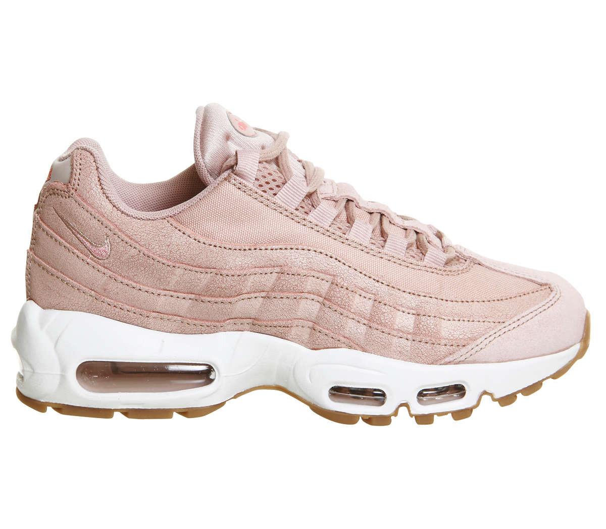 Кроссовки Женские Nike Air Max 95 Premium Pink Oxford