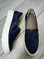 Слипоны, Женская обувь из текстиля,слипоны из текстиля