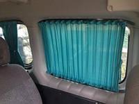 Автомобильные шторы Renault Kangoo с 2008г - Рено Канго зеленые