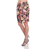 Юбка Уголок с цветочным принтом, фото 1
