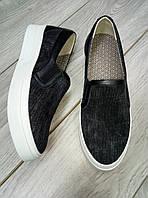 Слипоны, Женская обувь из текстиля, слипоны из текстиля