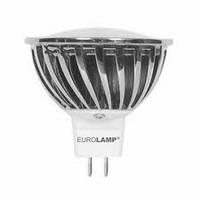 """Лампа светодиодная EUROLAMP ЕКО серия """"D"""" SMD MR16 7W GU5.3 4000K"""