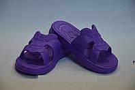Сланцы детские оптом фиолетовые