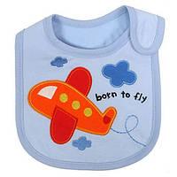 Детский слюнявчик Carter's born to fly  Оптом