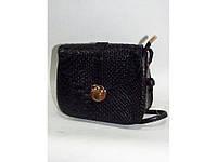 Стильная сумочка клатч черного цвета