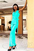 Стильный женский бирюзовый комбинезон Ариэла  Jadone Fashion 42-50 размеры