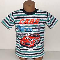"""Качественные турецкие футболки  """"Cars"""" для мальчиков 2,3,4,5,6 лет"""