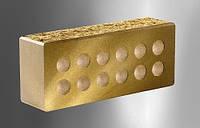 Облицовочный кирпич «Литос» стандартный пустотелый колотый с фаской