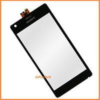 Сенсор (тачскрин) Sony C1904, C1905, C2004, C2005 Xperia M Dual Black Original