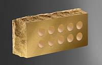 Облицовочный кирпич «Литос» стандартный пустотелый «скала» тычковой
