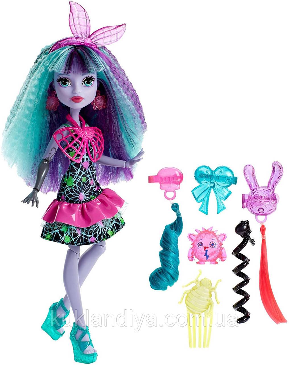 Лялька Monster High Електризовані Твайла