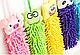 Полотенце - игрушка для рук из микрофибры Оптом, фото 3