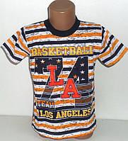 """Качественные турецкие футболки  """"Basketball"""" для мальчиков 2,3,4,5,6 лет"""