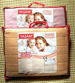 Электропростынь YASAM, электро простынь, электрическая простынь с подогревом, 120х160 см, Турция, наличие Киев