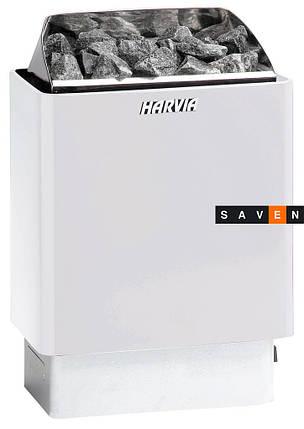 Электрическая каменка Harvia Trendi KIP60E белая для сауны и бани, фото 2