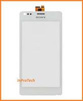 Сенсор (тачскрин) Sony C1904, C1905, C2004, C2005 Xperia M Dual White Original