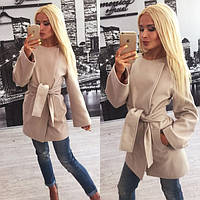 Кашемировое женское пальто Min e-61212