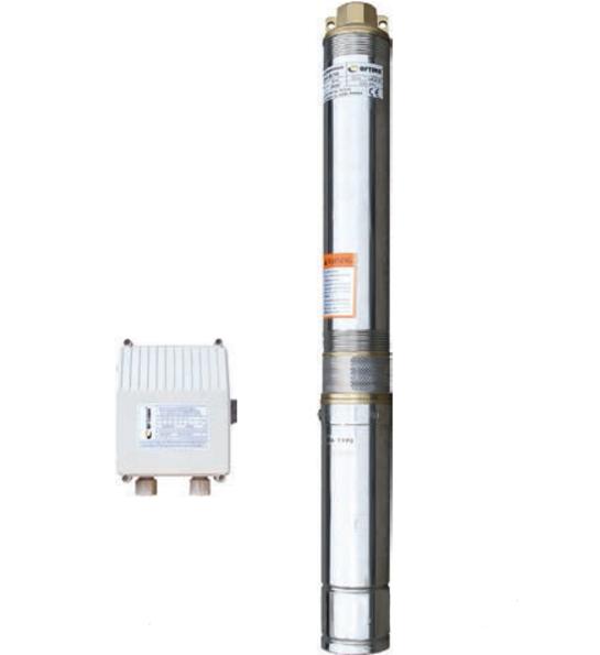 Насос скважинный с повышенной уст-тью к песку  OPTIMA 3.5SDm2/17 0.9 кВт 97м + пульт +кабель 15м