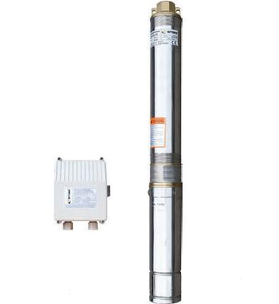 Насос скважинный с повышенной уст-тью к песку  OPTIMA 3.5SDm2/17 0.9 кВт 97м + пульт +кабель 15м, фото 2