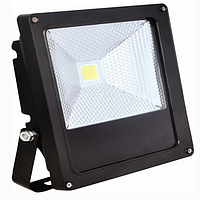 Светодиодный прожектор  LEMANSO 100w 6500K 6500LM 2LED серый / LMP2-100