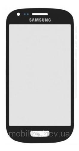 Скло Samsung i8190 (Galaxy S3 Mini) сині зі скотчем