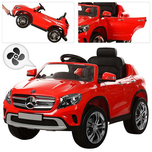 Детский электромобиль  Mercedes 653 BR-3: 2.4G, 7 км/ч, кондиционер-Красный - купить оптом