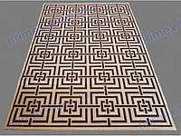 Безворсовый ковер-рогожка Natura Karat коричневый