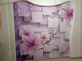 "Моя работа - Фотообои 3D - ""Purple lily"""