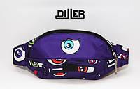 Поясная сумка Diller Eyes