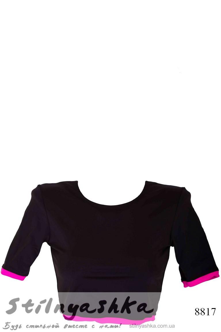 спортивный топ футболка