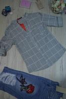 Женская стильная рубашка с карманами BURRASCA