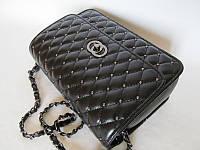 Классический модный клатч Chanel (Шанель), стеганый удобный. Доступная цена. Хорошее качество. Код: КГ836