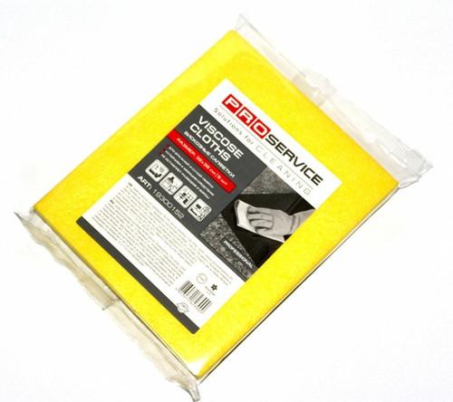 PRO Серветки віскозні 32х38 5 шт., колір жовтий (34 шт/ящ)