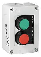 Кнопочный пост JBB2A100 (Две утопл. кнопки ON-OFF)