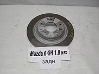 Б.У. Диск тормозной задний MAZDA 6 GH 2008-2012 Б/У